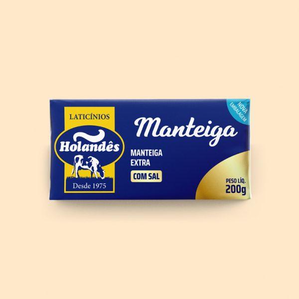 manteiga com sal holandês